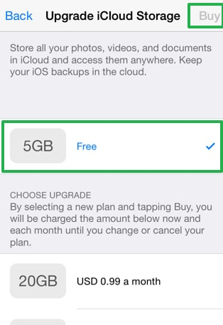 How to Cancel iCloud storage plans