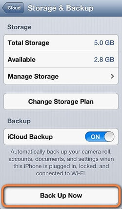 backup iphone data before ios 7 upgrade