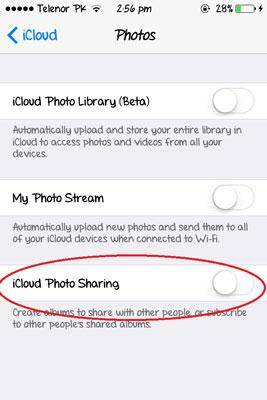How to setup and use iCloud Photo Sharing.
