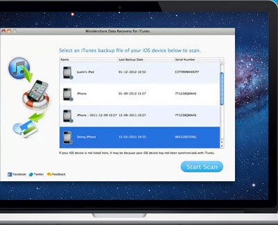 Data Recovery for iTunes