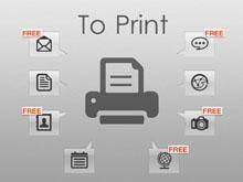 print iphone sms