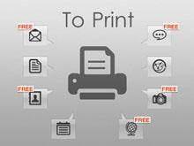 print iphone sms