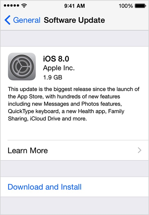 Things you need to Know about Updating to iOS 9