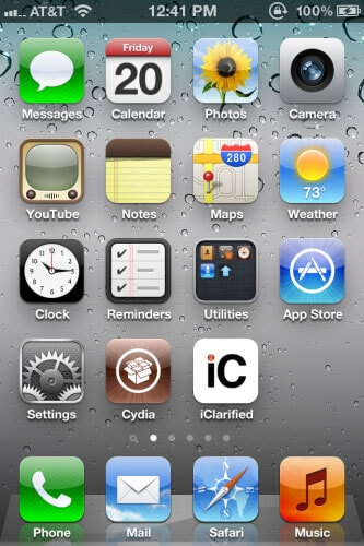 jailbreak ios6 on a iphone 4S using Redsn0w