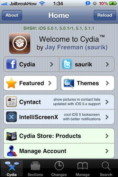 jailbreak ios 5 on a iphone 4S using redsn0w