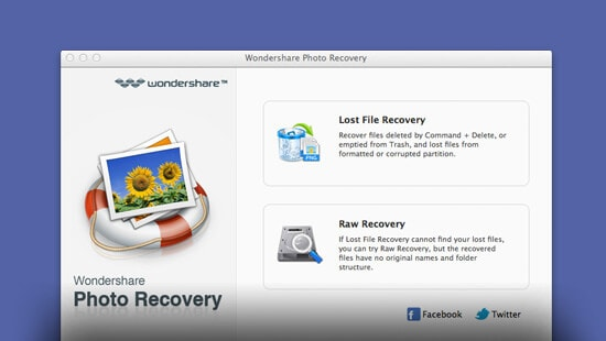 Photo Recovery for Mac