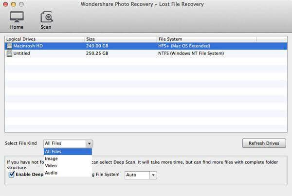 recover deleted m4a files
