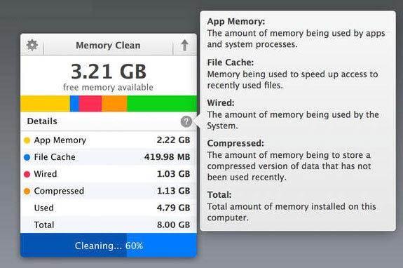 clean mac memory