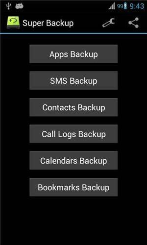 Backup Android App And App Data