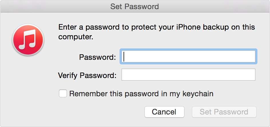 Everything you should know about iPhone backup password