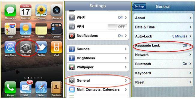 how to reset iphone password