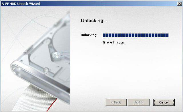 hard drive password recovery