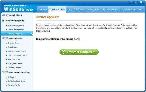 internet speed optimizer