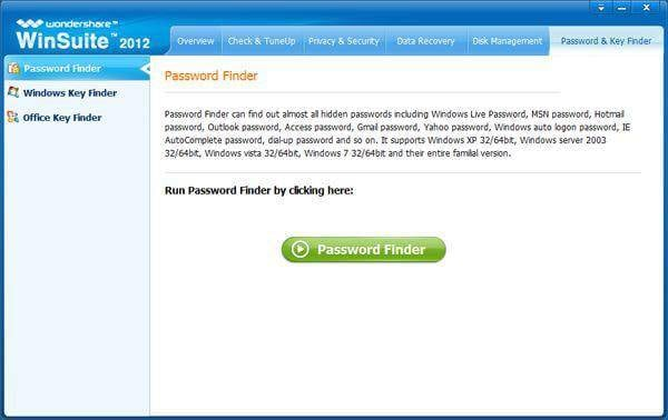 hotmail password finder