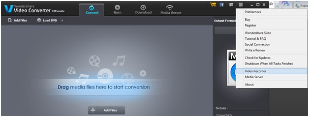 Wondershare Video Convertor Ultimate