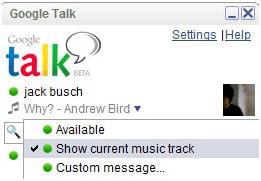 Google talk Plug-in