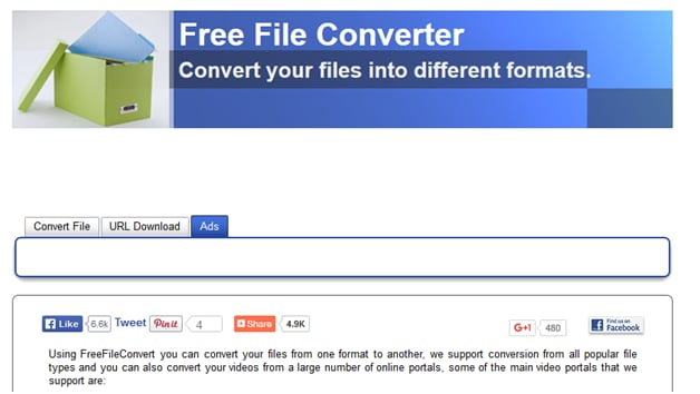 Top 20 free audio video converters