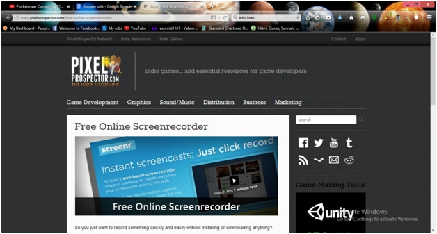 Top 5 Online screen recorder 2015