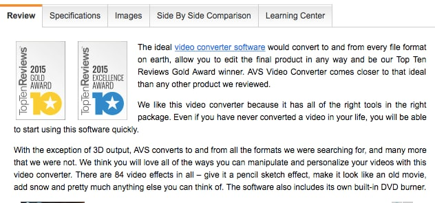 AVS video converter reviews and alternatives