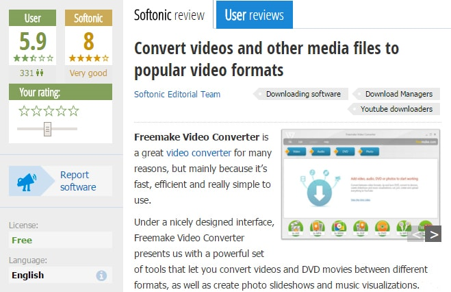 Freemake video converter reviews and alternatives