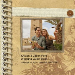 Wedding Memory Book Example