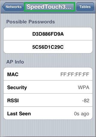 find wifi password iphone