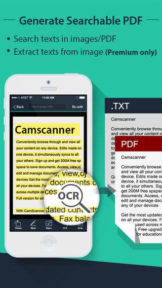 pdf scanner iphone