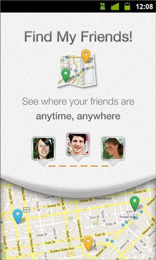 find my iPhone android app