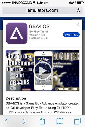 iphone 6 game boy