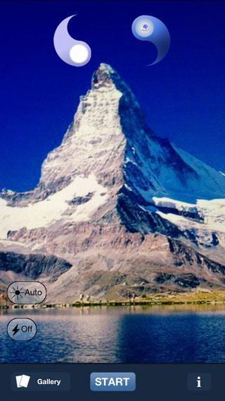 iphone app panoramic photo