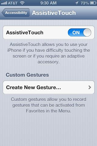 assistivetouch on
