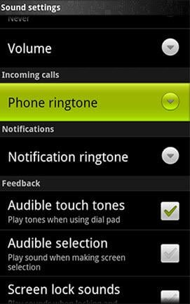 change ringtones on android1