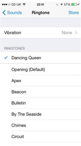 change ringtones on ios2