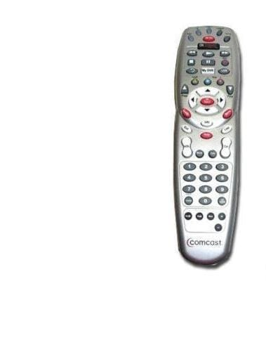 comcast remote