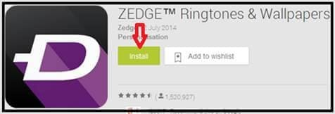 zedge ringtone download app for android