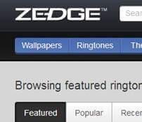 download ringtone from zedge1