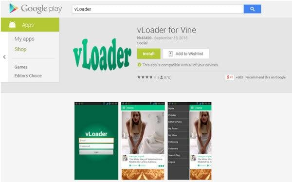 download vine to android