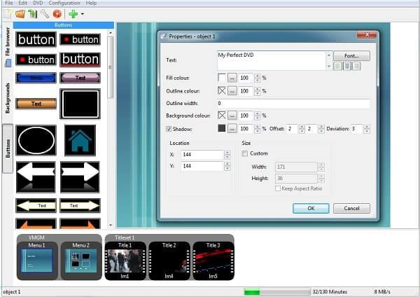 dvd editing