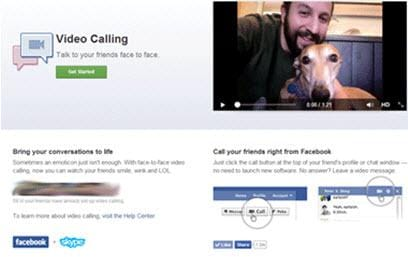 facebook video chat1