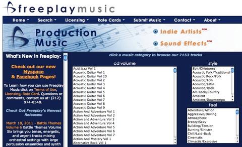 Free Play Music
