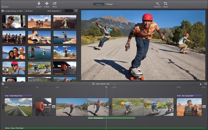 Apples iMovie