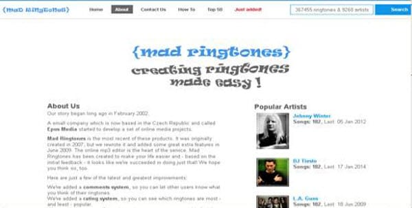 mad ringtones