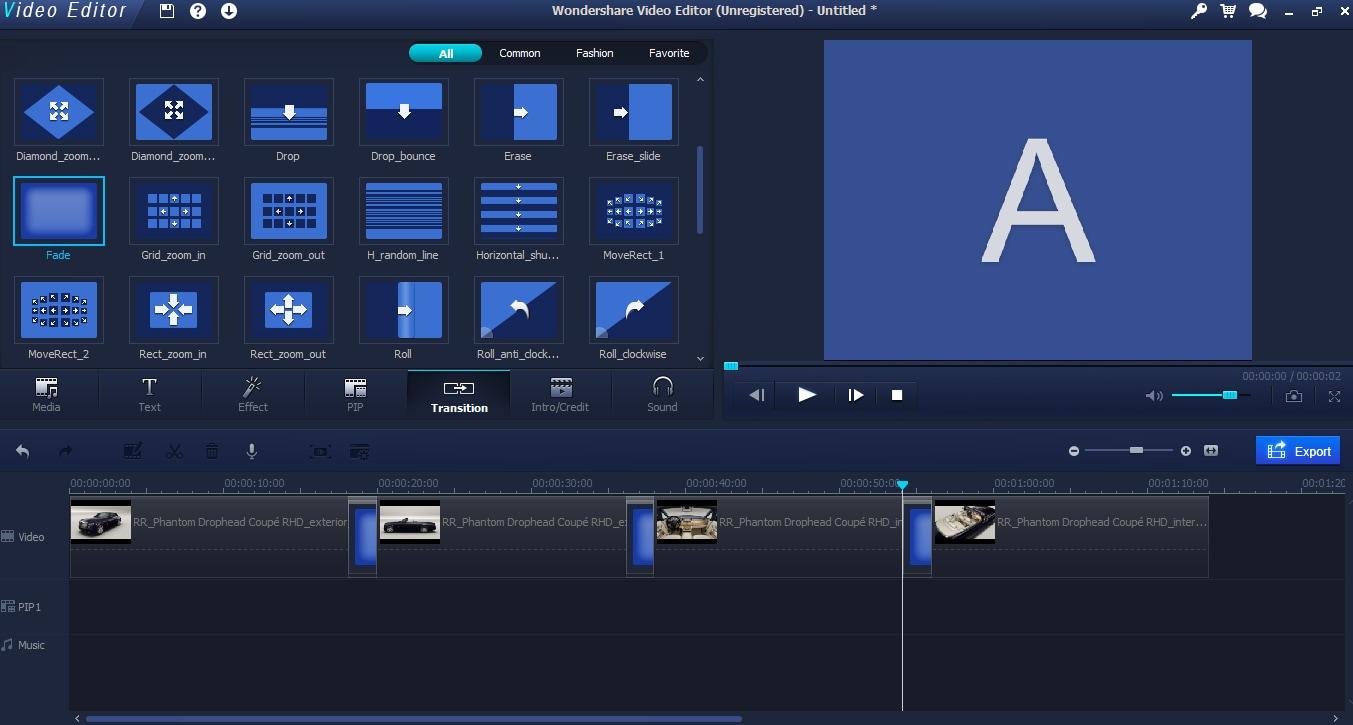 More editing tools