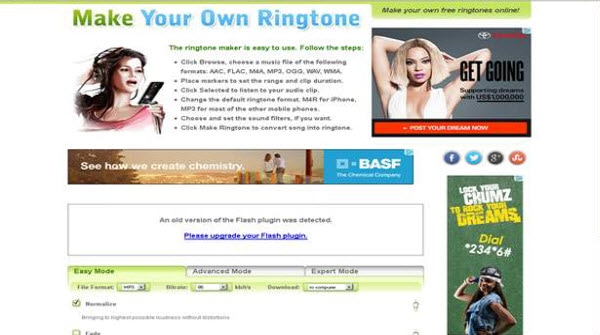 make your own ringtone