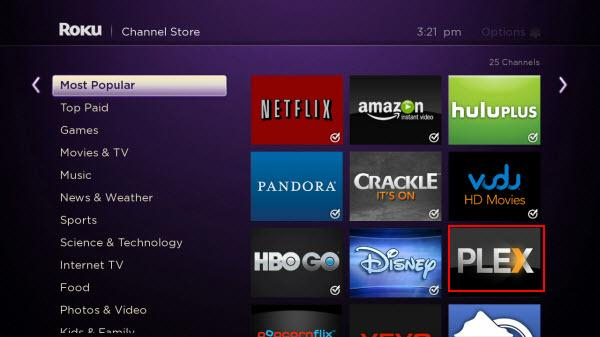 stream video from pc to roku