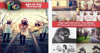 splitpic photo editing app