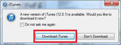 Upgrade your iTunes