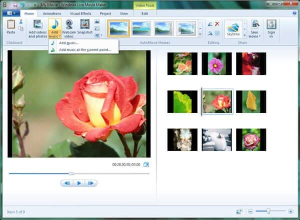 convert mp4 to windows movie maker