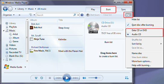 Windows Media Player to dvd editing