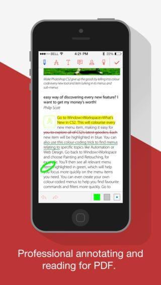 iphone pdf editor